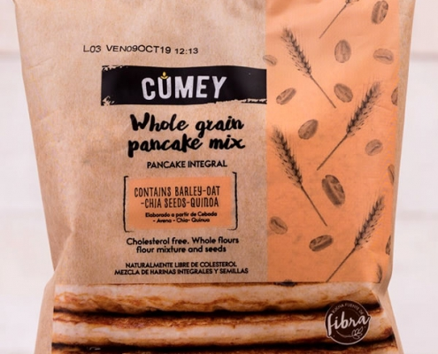 Whole grain pancake mix CUMEY 100g.